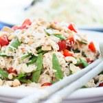 gesunde frische salate — Stockfoto #45807559