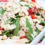 gesunde frische salate — Stockfoto #45807563