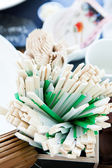 Bunch of chopsticks — Stock Photo