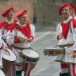 Italian medieval drummers - Stock Photo