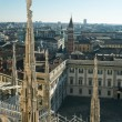 Royalty-Free Stock Photo: View of Milan from a height