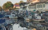 Evening in Cervia — Stock Photo