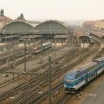 Prague railway station — Stock Photo #32495729