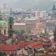 Prague from height — 图库照片