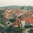 Cesky Krumlov from a height — Stock Photo