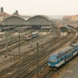 Prague railway station — Stock Photo