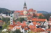 Spring in Cesky Krumlov — Stock Photo