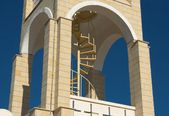 Staircase to the bell tower — Stock Photo