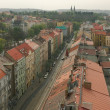 Prague from a height — Foto Stock