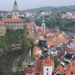 Stock Photo: Cesky Krumlov in spring