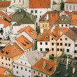 Stock Photo: Roofs of Cesky Krumlov