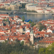 Stock Photo: Prague at sunset