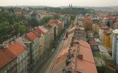Prague from a height — 图库照片