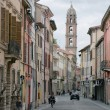 Stock Photo: Street in Faenza