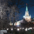 Stock Photo: Alexander Garden at night