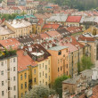 Stock Photo: Background of Prague's roofs