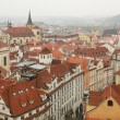 Stock Photo: Prague. Old town from height
