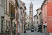 Street in Faenza — Stock Photo