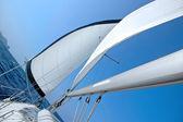 Sail boat — Stock Photo