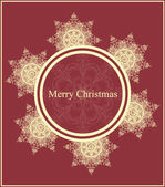 Vector Christmas greeting card — Vetorial Stock