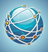 Network icon — Stock Vector