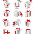 Gift box set — Stock Photo #16177773