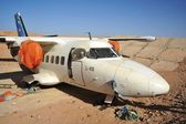 Aircraft L-410 in airport Berbers — Stock Photo