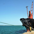 Sea port of Berbera - Stock Photo