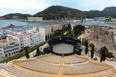 Antique amphitheater in Cartagena — Stock Photo