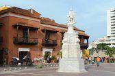 Christopher amerika'ya bir açıcı anıt columbus — Stok fotoğraf