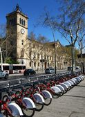Bicycle in Barcelona — Stock Photo