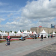 Feast on Poklonnaya Hill  in Moscow,Russia — Foto Stock
