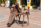 As esculturas no museu de arte moderna de cartagena — Foto Stock