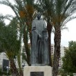 Monument to the founder of the city Abderramanu II  in Murcia — Stock Photo