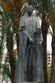 Monument to the founder of the city Abderramanu II in Murcia — ストック写真
