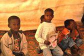 Obóz szkoły dla afrykańskich uchodźców na obrzeżach Hargejsa — Zdjęcie stockowe