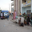 Stock Photo: Hargeisis city in Somalia