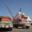 Stock Photo: Seport in Gulf of Aden