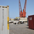 Foto Stock: Seport in Gulf of Aden