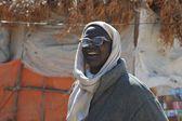 In the Somali village. — Stock Photo