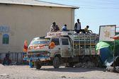 сомалийцев на улицах города харгейса. — Стоковое фото