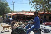 Somalijczyków na ulicach miasta boorama. — Zdjęcie stockowe