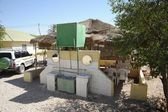 Cafe on the street in Hargeisa — Stock Photo