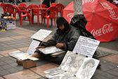 Street artist. — Stock Photo