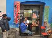 The people on the streets of La Paz city. — Stock Photo