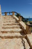 Symbol of the city Torrevieja  - the old tower. Spain — Stock Photo