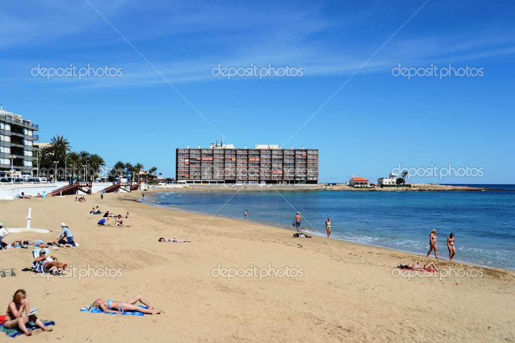 Torrevieja Spain  city photos : TORREVIEJA, SPAIN APRIL 4, 2014: Torrevieja is a Mediterranean city ...