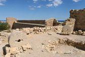 Fortaleza de santa barbara em alicante — Foto Stock