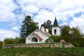 Trinity Church in the village Byokhovo constructed in 1906 on the project of V. Polenov — Stock Photo