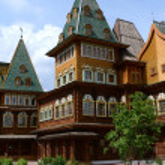 Wooden palace of Tsar Alexei Mikhailovich in Kolomenskoye — Stock Photo #51552483